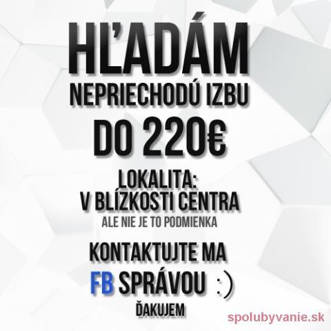 Spolubývanie KOŠICE 2 Košice II